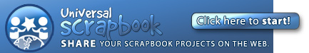 Share your scrapbooking projects on universalscrapbook